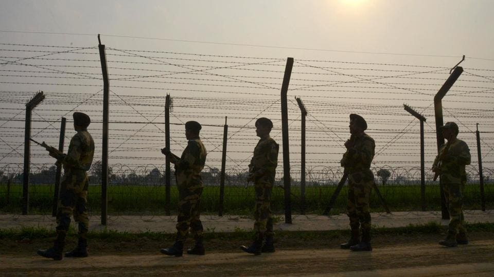 "According to police sources, the bodies of the two slain militants were lying in ""no man's land"" along the LoC."