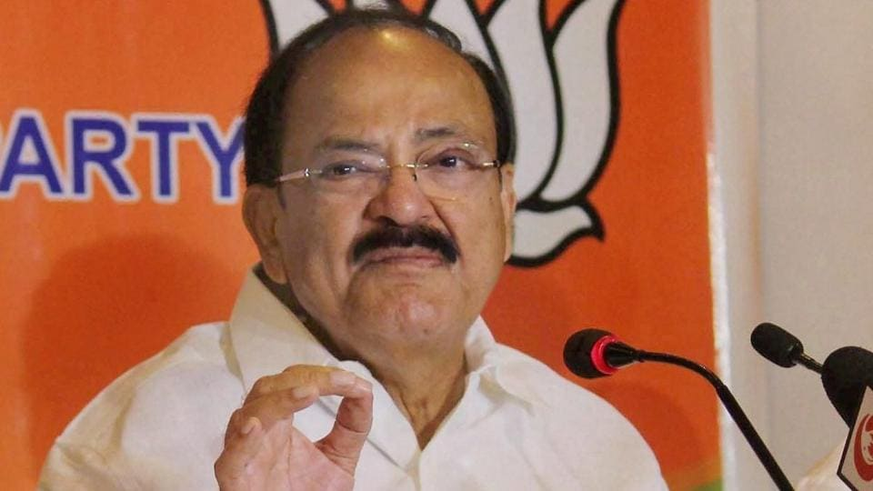 Venkaiah Naidu,BJP,Anti-BJP alliance