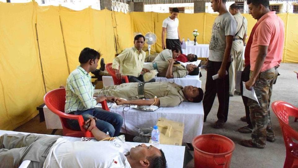 The Chief Minister said the total collection of around 66,000 bottles would mitigate the blood shortage in the state.