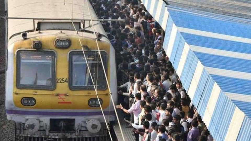 Commuters travelling to CST from Nerul and Vashi did not have to suffer as those trains were running on time.