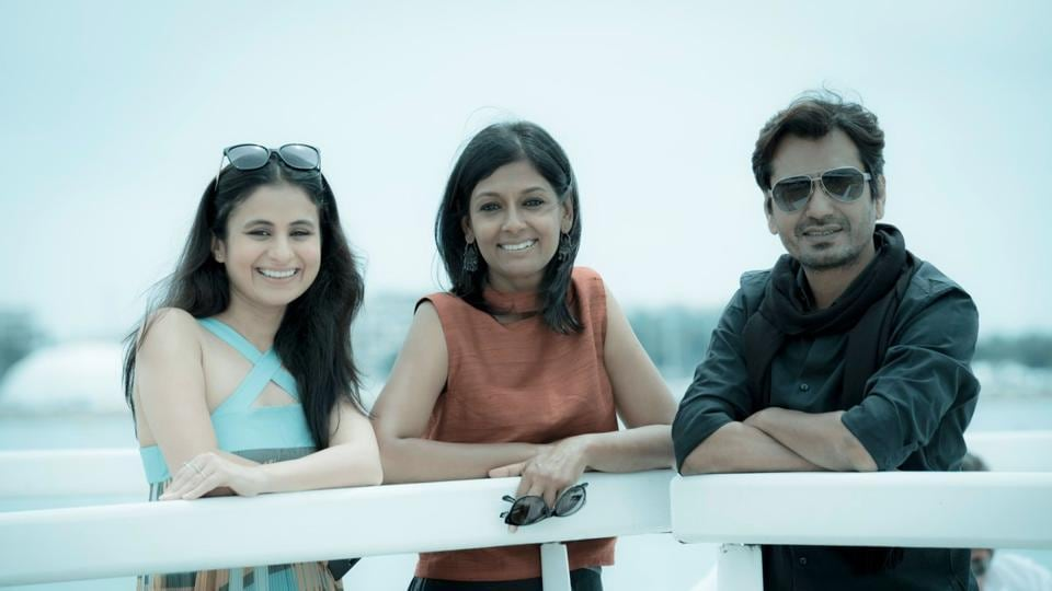 Nandita Das with Nawazuddin Siddiqui and Rasika Duggal