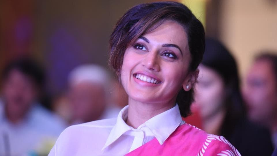 Taapsee Paanu,Ht Youth Forum 2017,Chandigarh