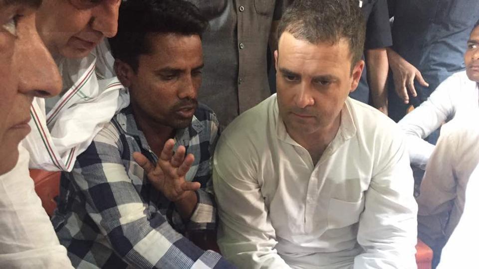 Saharanpur,Rahul Gandhi,Caste Clashes