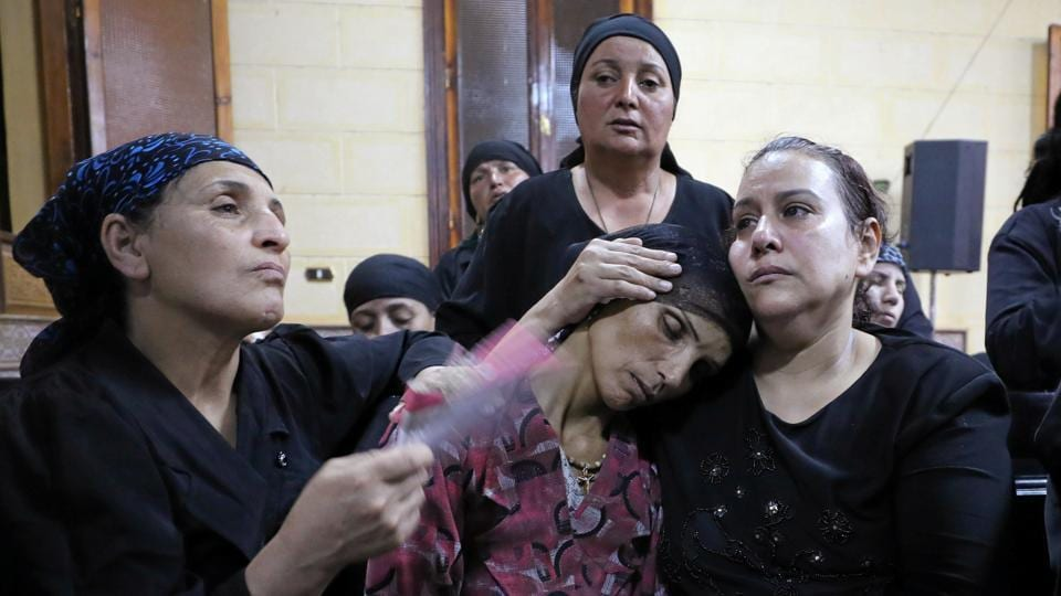Isis claim responsibility for deadly attack on Egpyt's Coptic Christians