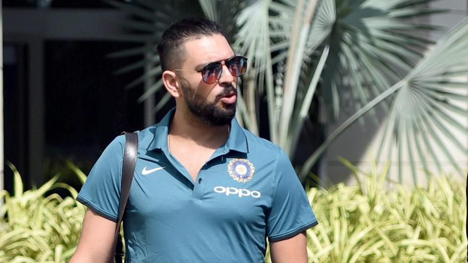 Champions Trophy: Yuvraj down with viral fever but recovering