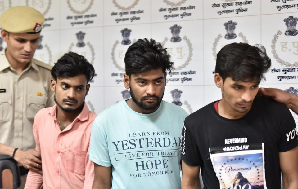 Cyber cell of Gurgaon police arrested three persons involved in running the fake call centre.