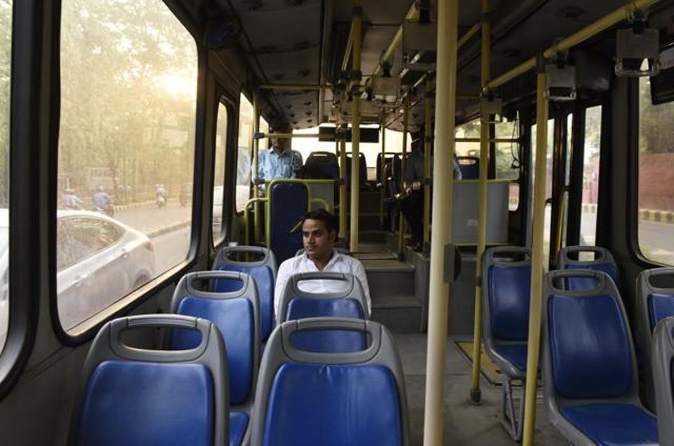 Detaination bus,DTC bus,Public transport