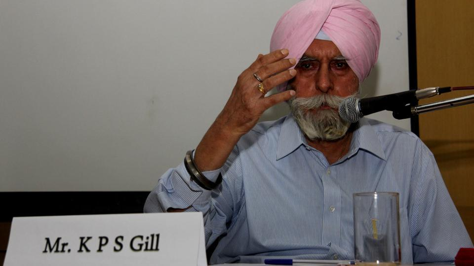 KPS Gill, credited with breaking the backbone of Khalistani terrorism in Punjab, was suffering from kidney failure and a heart disease.