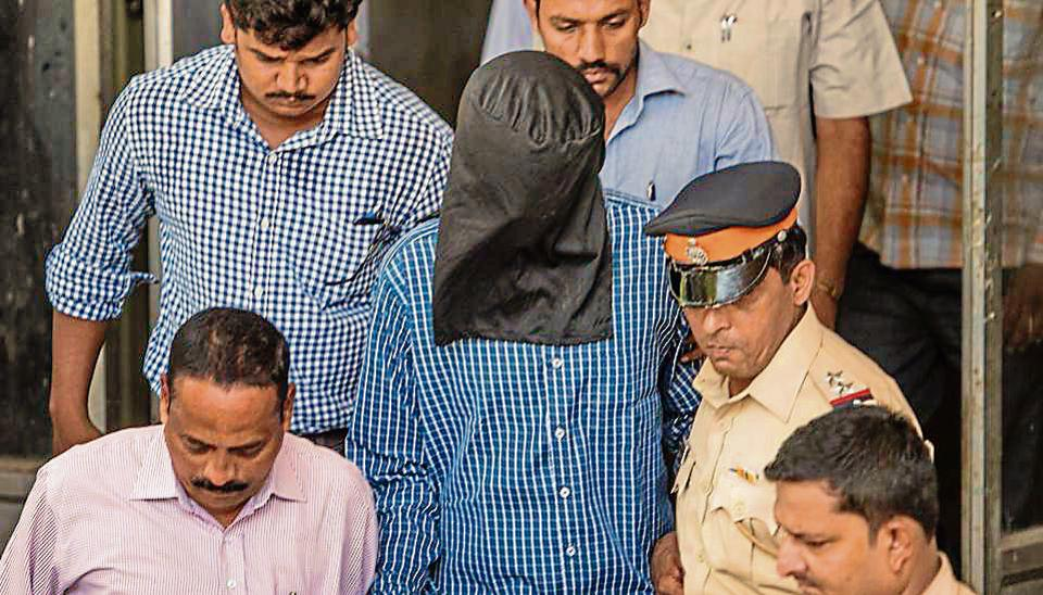 Siddhant Ganore was produced at a Bandra court on Friday.