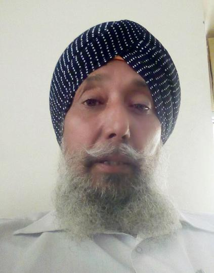 Nirmal Singh, one of the four Sikh men from Alwar who were assaulted by a mob near Ajmer last month.