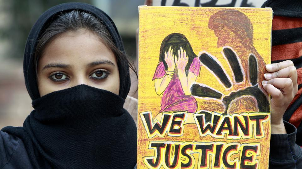 Representative Image : Students protest at Jantar Mantar, seeking justice for the Delhi gang rape victim.