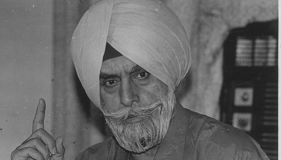 Former DGP of Punjab,KPS Gill