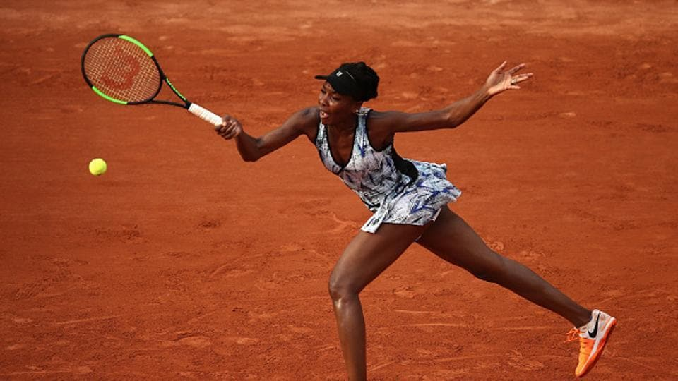 Image result for Venus Williams 2017 French Open