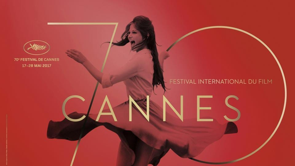 Official poster of the Cannes film festival 2017.
