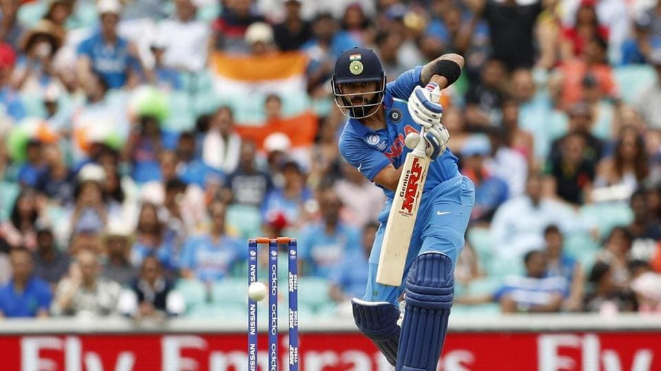 Kohli looked really sharp throughout his innings and brought up his half-century off 52 balls.  (AFP )