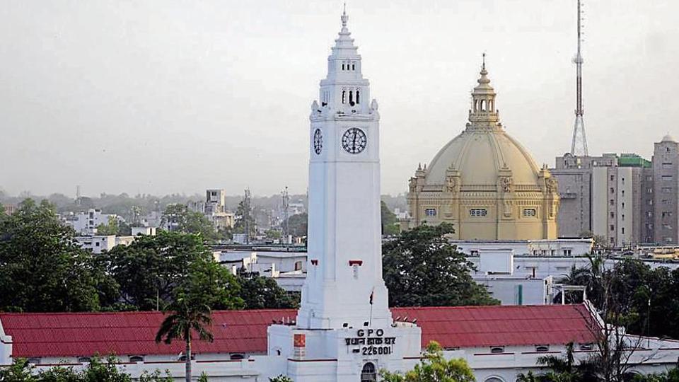 GPO clock,Lucknow,Hazratganj