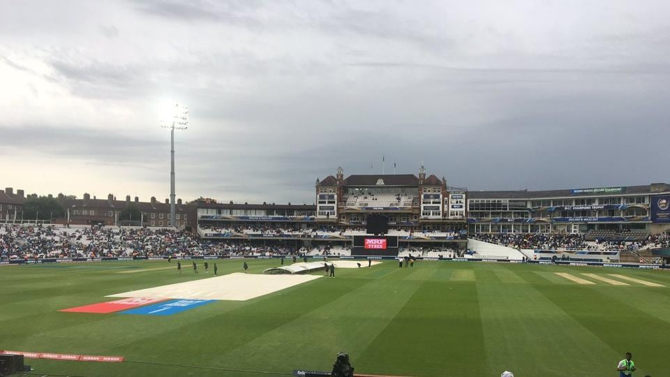 With India still needing 61 off 144, rain arrived and refused to relent as Kohli's men registered a win - being well ahead on D/L.  (twitter )