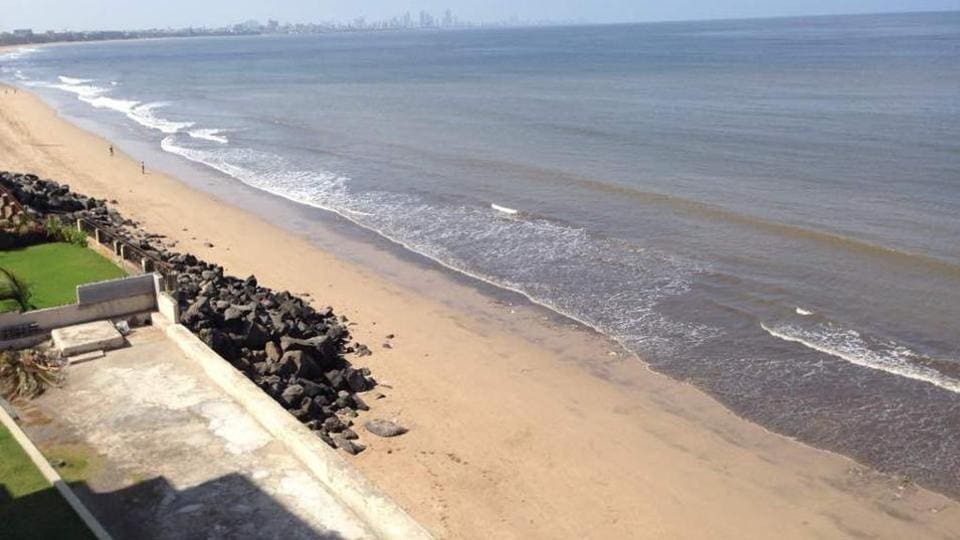 A photo of a spick-and-span Versova beach that Afroz Shah tweeted recently.