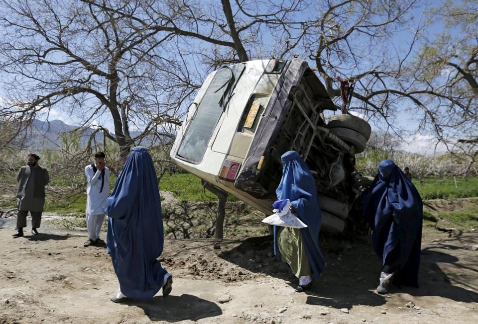 War-torn Afghanistan has some of the world's most dangerous roads due to wear and tear, a lack of enforcement of traffic rules and decrepit passenger vehicles.