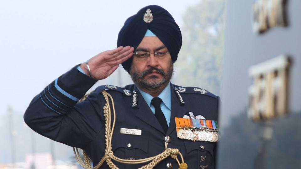 The Indian Air Force chief is on a three-day visit to the Air Force station in Bhisiana, in Kargil.