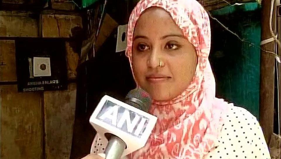 National-level shooter Ayisha Falaq speaks to ANI.