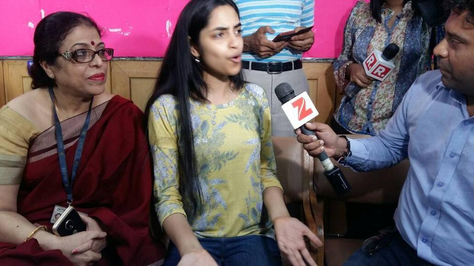 Raksha Gopal from Noida's Amity International School scored 99.6% marks to top the Central Board of Secondary Education (CBSE) Class 12 board examination 2017.