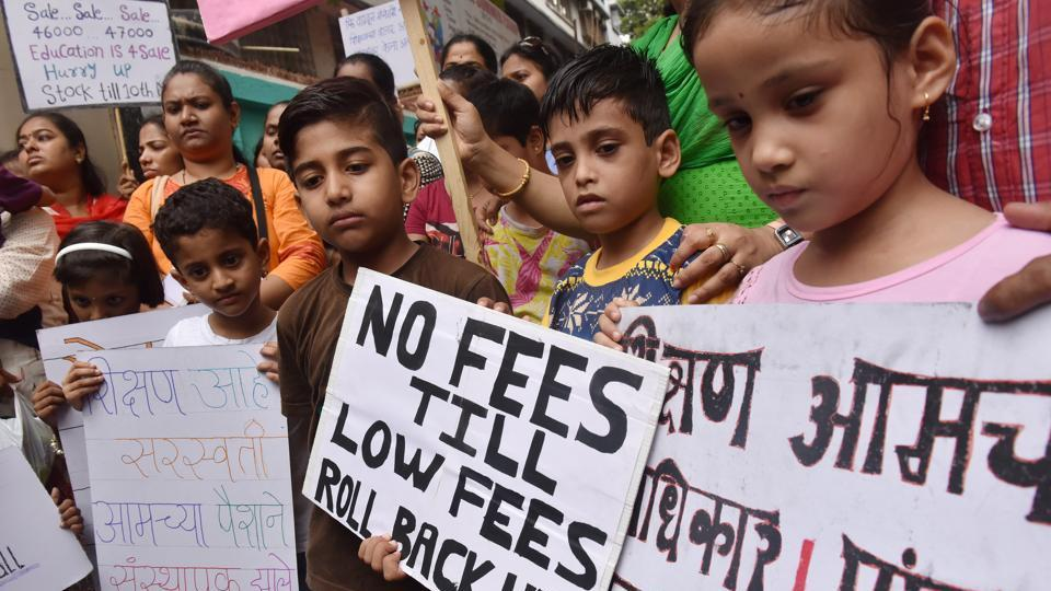 Parents have been complaining about exorbitant fee hikes.