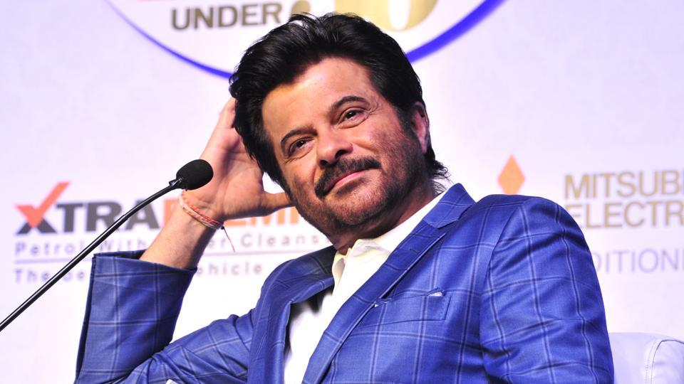 Anil Kapoor at HT Youth forum 2017 event in Chandigarh.