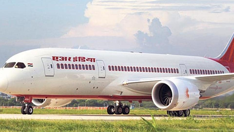 Air India's Dreamliner aircraft.