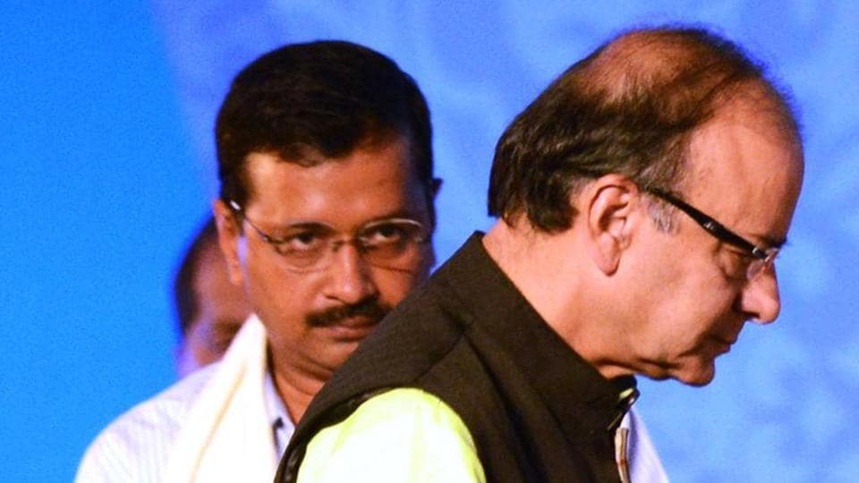 Delhi CM Arvind Kejriwal has been sued by Union finance minister Arun Jaitley who has sought Rs 10 crore as damages.