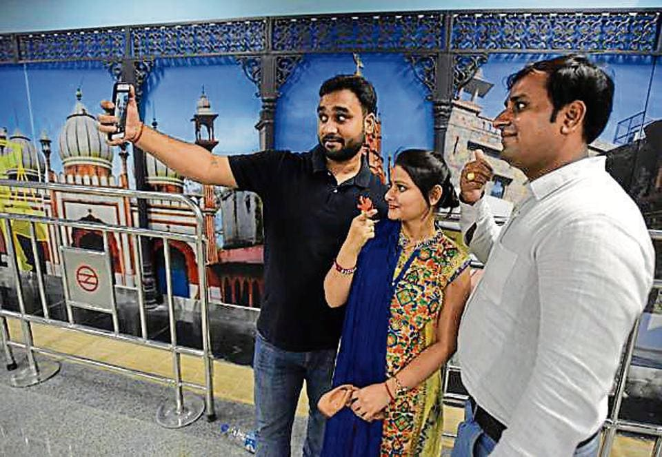 The ITO-Kashmere Gate line was thrown open for public on Sunday. With its launch, the Metro makes inroads into old Delhi or the 'Walled City' with four stations--Delhi Gate, Jama Masjid, Red Fort and Delhi Gate.