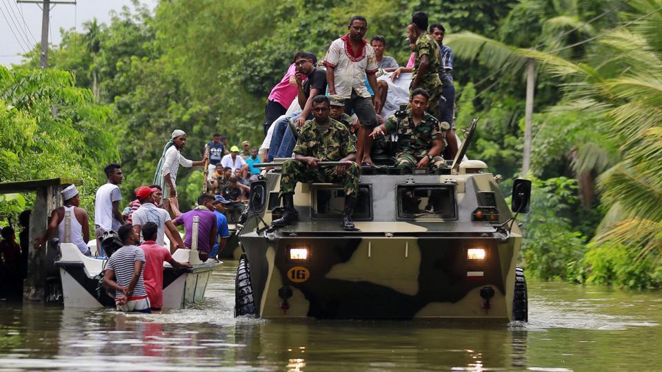 Sri Lanka floods,Sri Lanka,Indian Navy