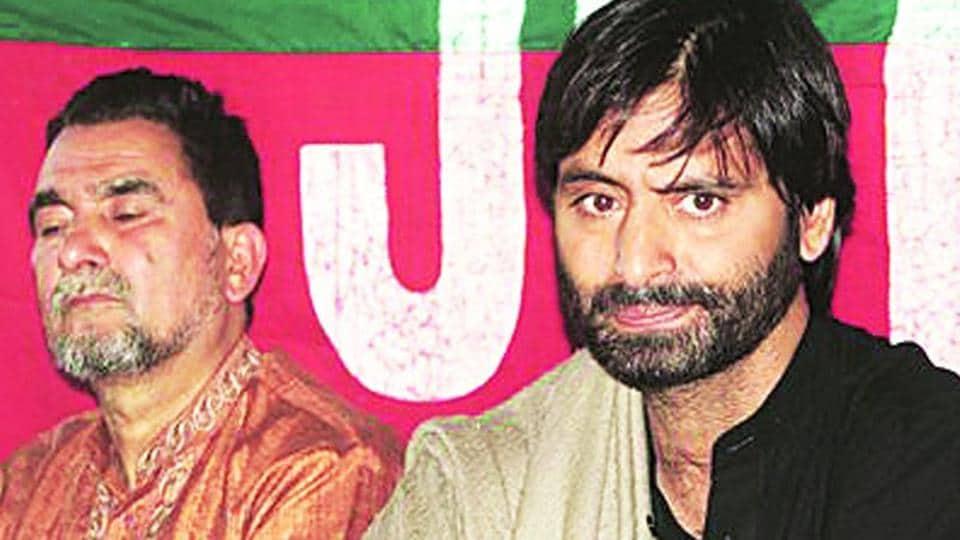 Yasin Malik, chairman of Jammu Kashmir Liberation Front.