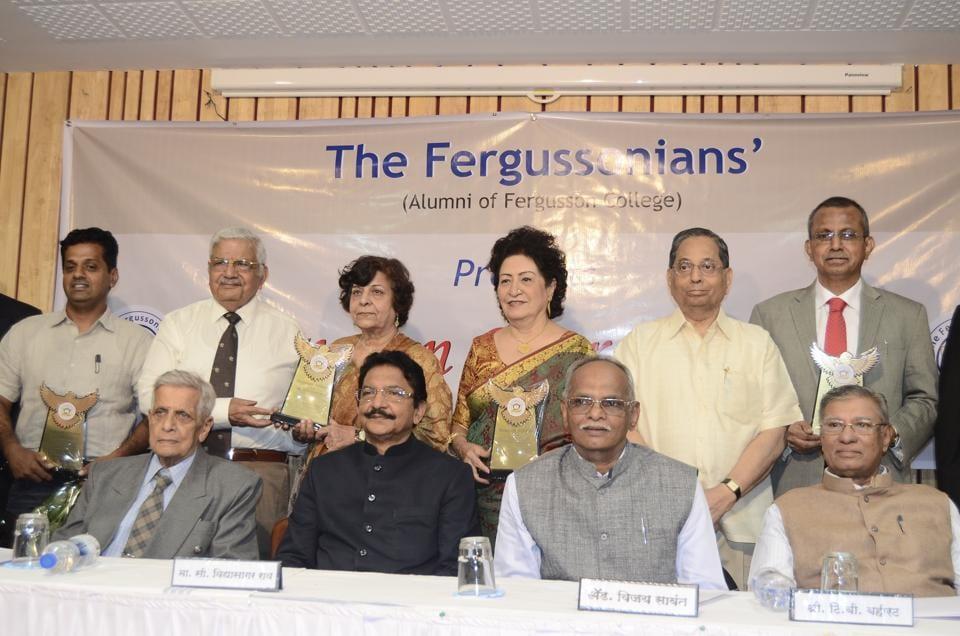 Fergusson College,C Vidyasagar Rao,Madhav Godbole