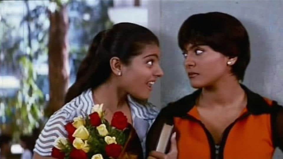 Kajol played the role of twin sisters—Naina and Sonia—in 1998 film Dushman.