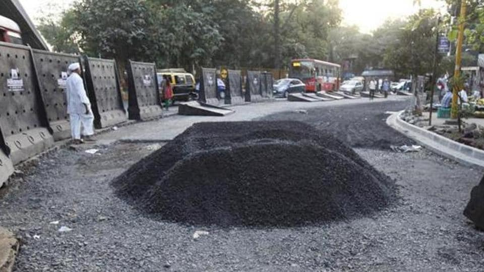Of the 878 roads taken up over two months, the BMC has repaired 522.