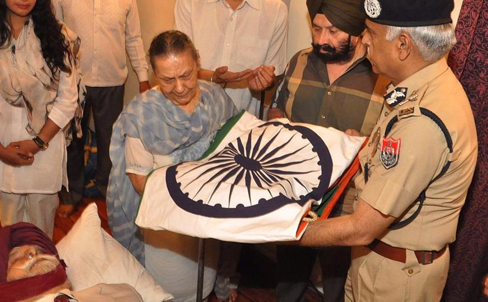 KPS Gill,state honours,supercop
