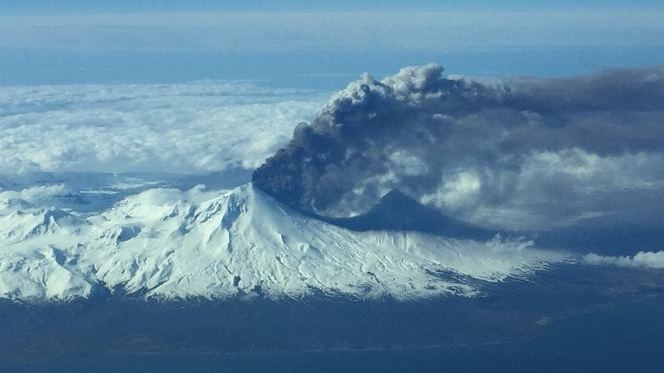 Representative Image: The 2016 eruption of Pavlof in Alaska also had significant impact on aviation.