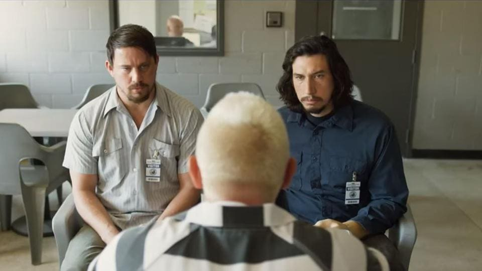 Channing Tatum and Adam Driver play brothers in the movie.