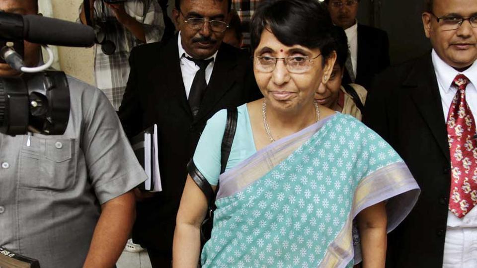 Maya Kodnani, former Gujarat minister and an accused in the 2002 Naroda Gam riot case.
