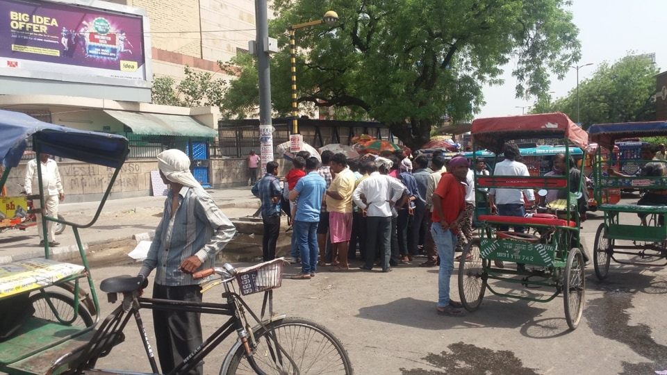 The site where the e-rickshaw driver was beaten to death by a group of youths for objecting to their urinating in public.