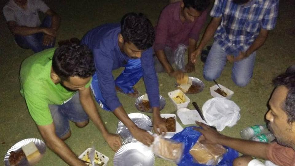 Students at IIT-Madras held a beef festival inside the campus to protest cow slaughter ban.