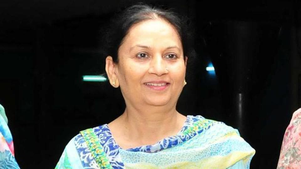 Minister of state for education Aruna Chaudhary