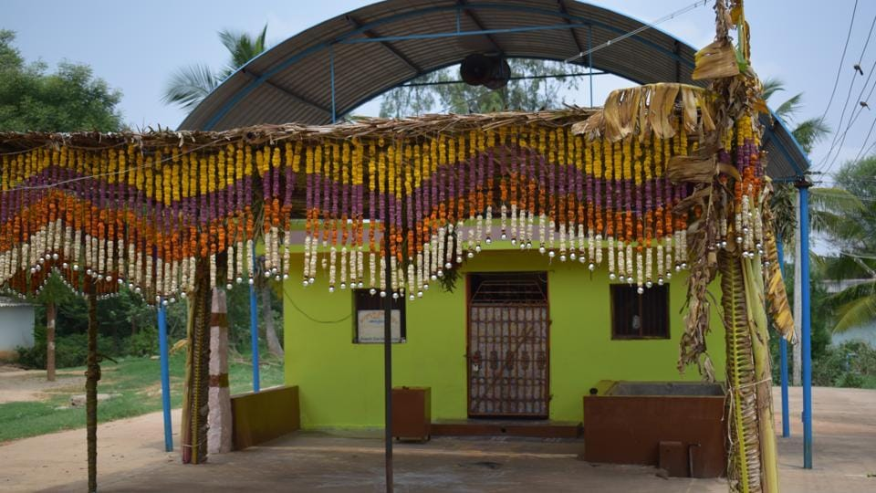 Kottihalli's 'savarnas' insist the fair being called off was not related to Dalits entering the temple.