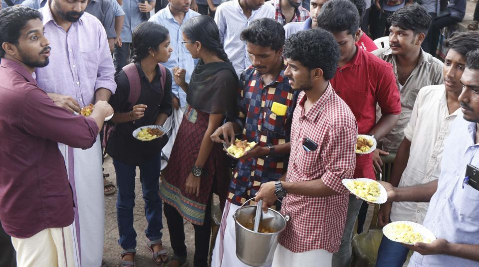 """The ruling Communist Party of India-Marxist held over 300 """"beef festivals"""" across Kerala where cooked beef was freely served."""