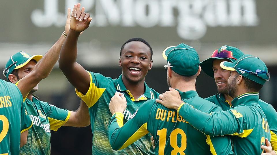 Riding on Kagiso Rabada's 4/39 , SouthAfrica cruised to a seven-wicket win over England in the third and final ODI at Lord's.