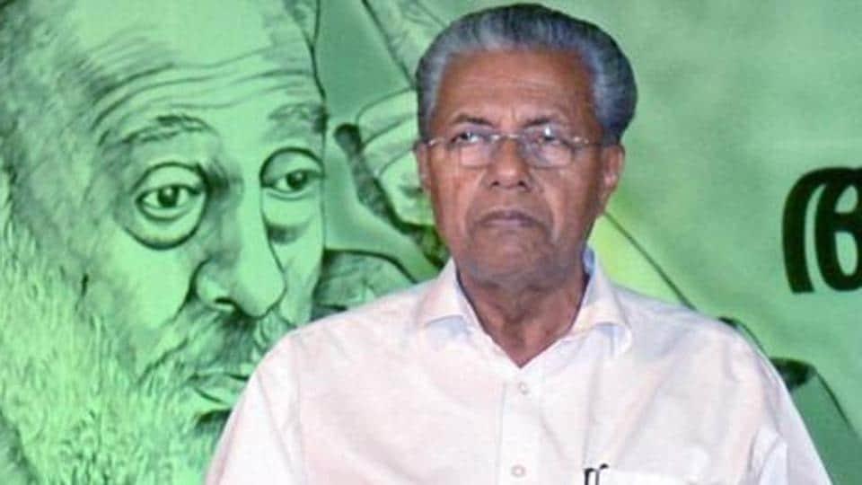 Kerala chief minister Pinarayi Vijayan.