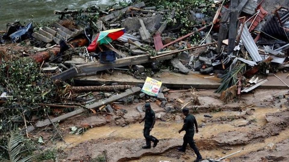 Sri Lanka floods,Sri Lanka death toll,Sri Lanka army