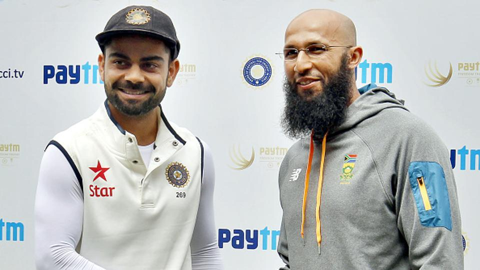 Hashim Amla surpassed Virat Kohli to become the fastest to 7000 ODI runs during South Africa's game against England at the Lord's on Monday.