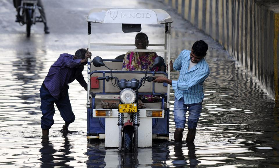The Noida authority has identified 20 locations and 6 underpasses which maximum waterlogging takes place.